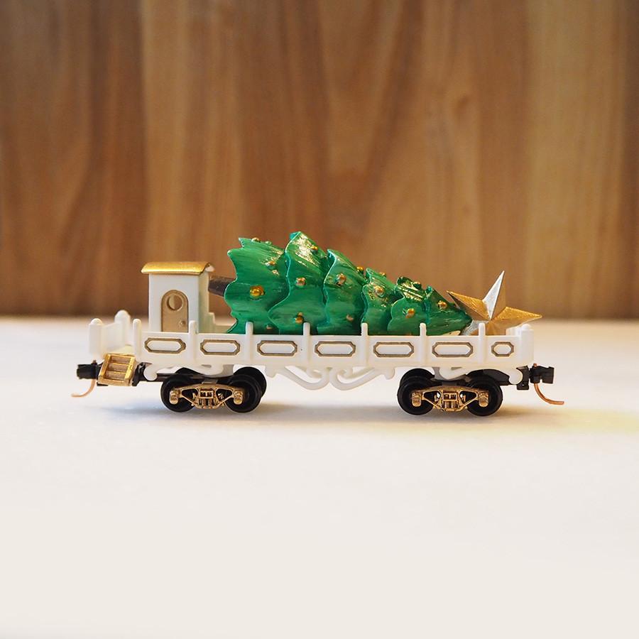 Tree Transport, White - side