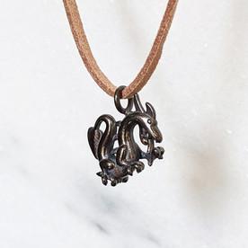 Dragon Pendant, Black
