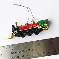 2020- Christmas Train Ornament - Size