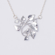 Dove Embraced, Silver-front