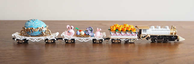 Easter n-scale train