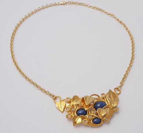 Midnight Stars, Gold - chain