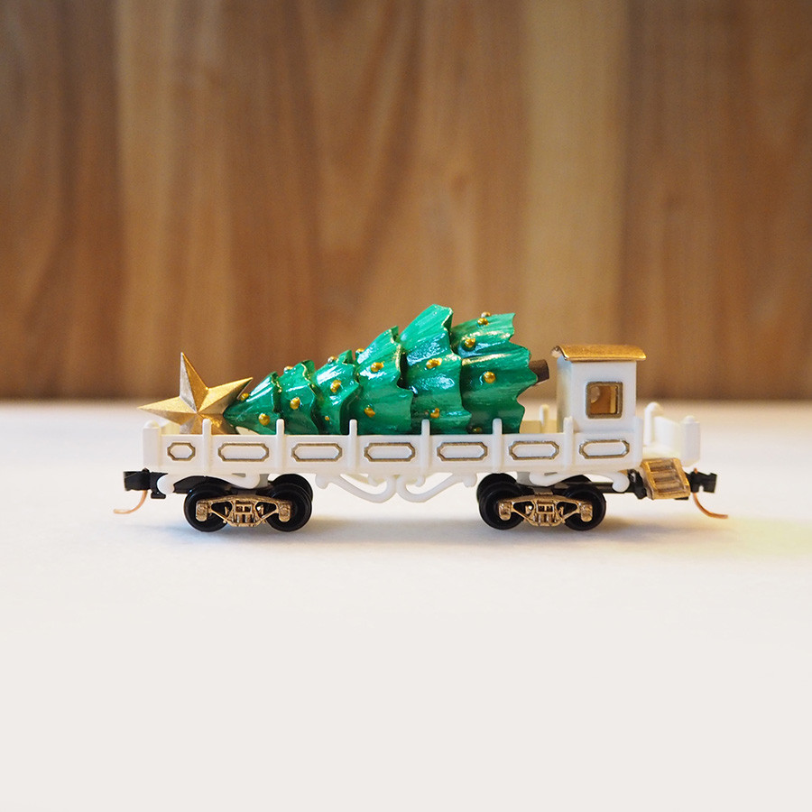 Tree Transport, White - side 1