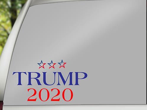 Trump2020 w/Stars Decal