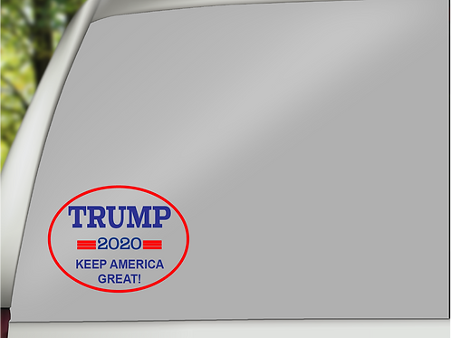 Trump2020 Oval Decal