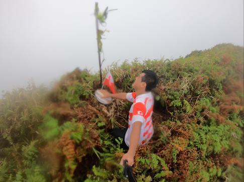 【19カ国目】トンガ最高峰、カオ島(1,033m)