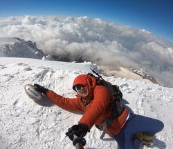 W杯 登山で応援 元ラガーマン 過去出場の国・地域へ「トライ」