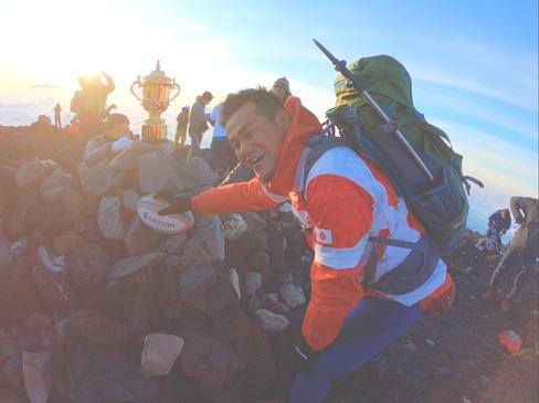 【25カ国目】日本最高峰、富士山(3,776m)