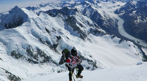 【16カ国目】ニュージランド最高峰、クック山 (3,724m)