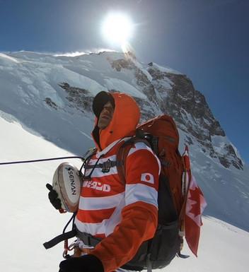 【21カ国目】カナダ最高峰、ローガン山(5,960m)