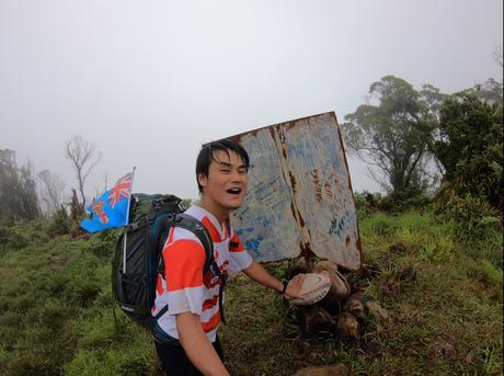 【17カ国目】フィジー最高峰、トマニビ山 (1,324m)