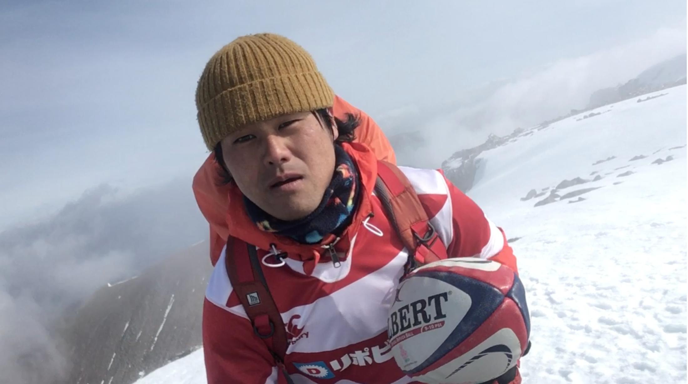 """いよいよベスト8への決戦!世界初""""ラグビー登山家"""" スコットランド最高峰"""