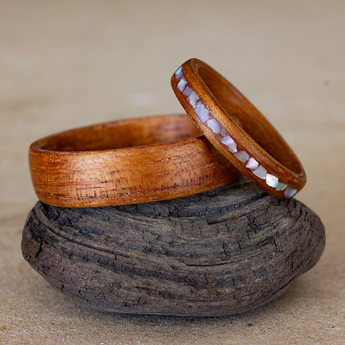 Koa Set with Mother of Pearl