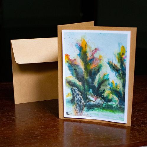 Watercolor #1 Greeting Card