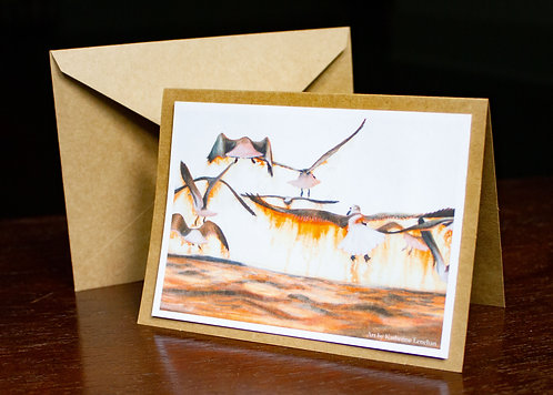 Greeting Cards - Tyler's Seagulls