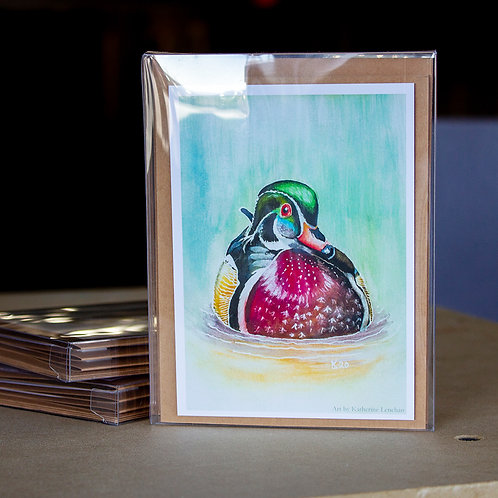Greeting Cards - Wood Duck