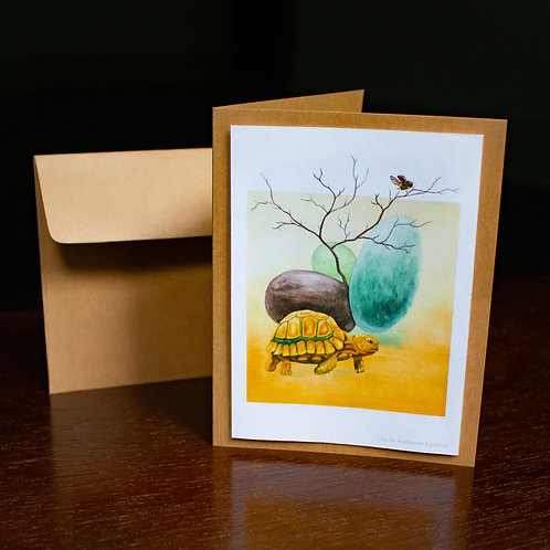Turtle of the Sky Greeting Card
