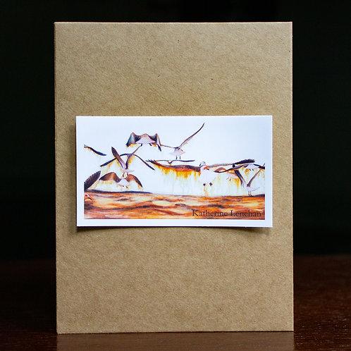 Vinyl Sticker or Magnet | Tyler's Seagulls