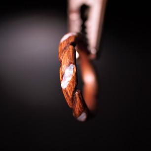 Louro Preto Twist Carved w/ Mother of Pearl