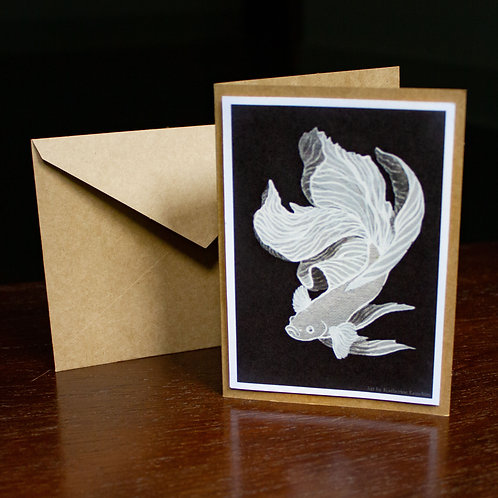 Veil Greeting Card