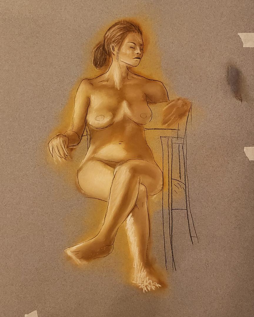 Figure Light Study
