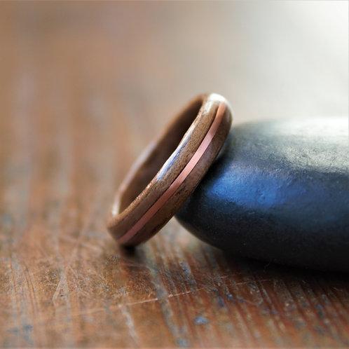 Walnut with Copper