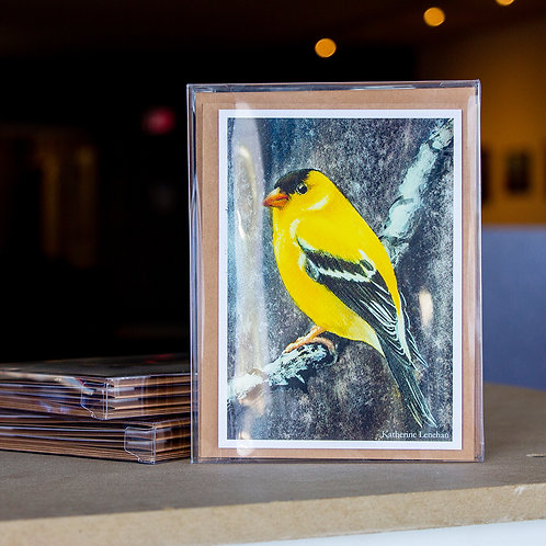 Greeting Cards - Golden Finch