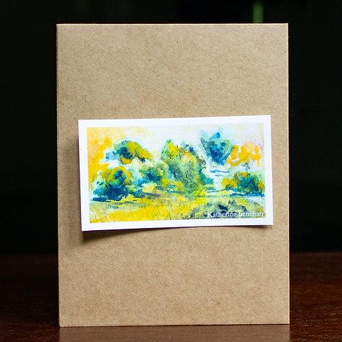 Vinyl Sticker or Magnet | Watercolor #2