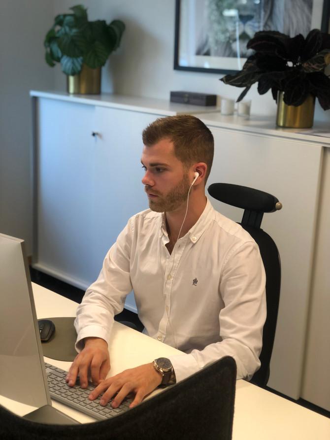 Möt Andreas - ny på kontoret
