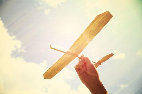 Spielzeugflugzeug