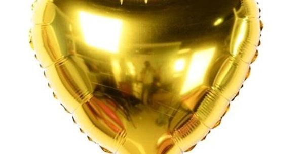 Gold Kalp Folyo Balon (60 cm)