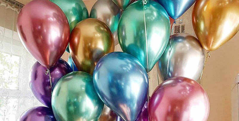 Krom  Uçan Balon 24 adet