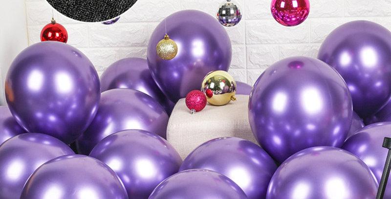 Krom Mor Balon 50 Adet