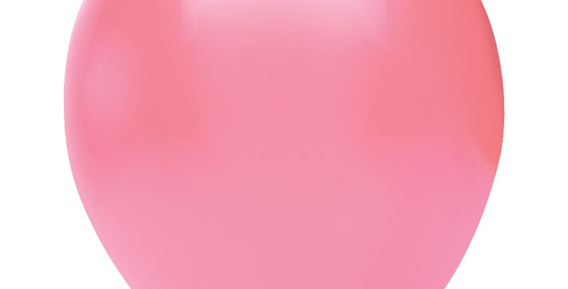 Pastel Pembe Balon 100 Adet
