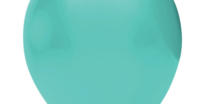 Pastel Su Yeşili Balon 15 Adet