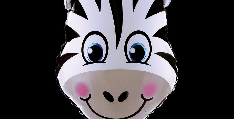 Safari Temalı Folyo Balon Zebra