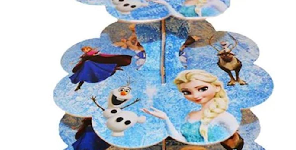 Frozen Kek Standı 3 Katlı