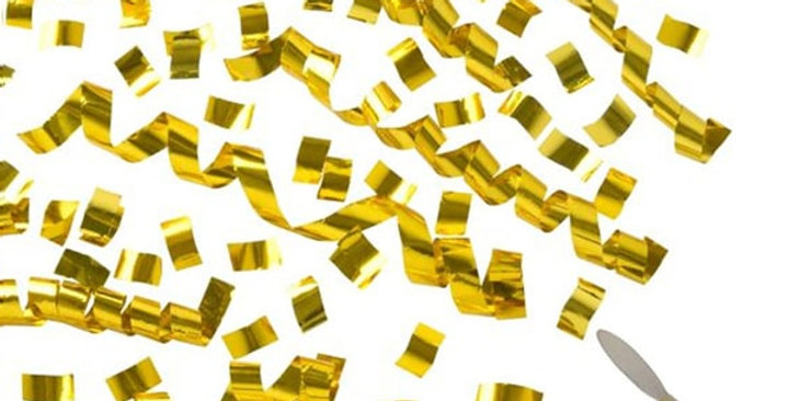 Altın Konfeti 30 cm