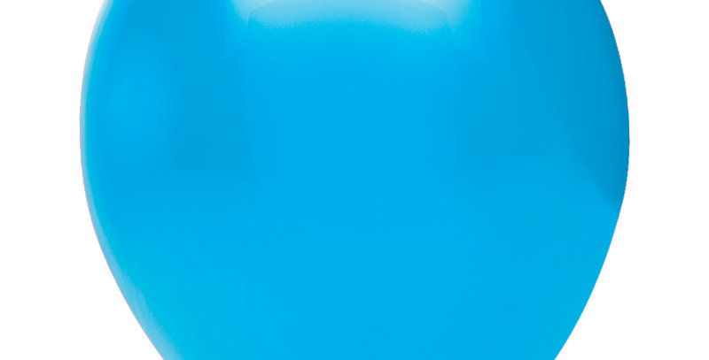 Pastel Açık Mavi Balon 100 Adet