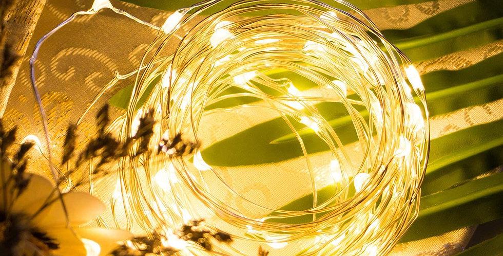 3 Metre Peri Led Işık GünIşığı, Pilli Dekoratif Aydınlatma