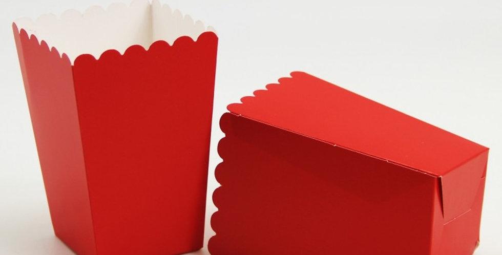 Kırmızı Mısır Kutusu (10 Adet)