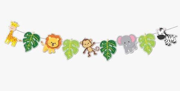Safari Dekoratif Banner (165*20 cm)