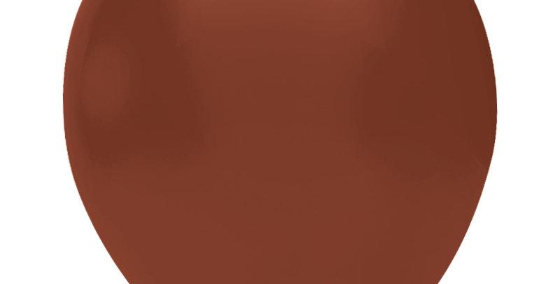 Pastel Kahverengi Balon 15 Adet
