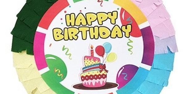 Happy Birthday Pinyata (42 cm ve Sopası Hediye)
