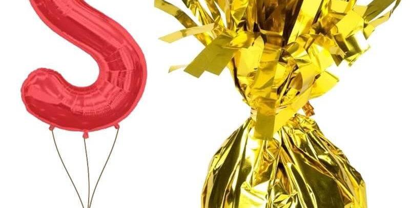 Uçan Balon Ağırlığı Gold/Altın Renk