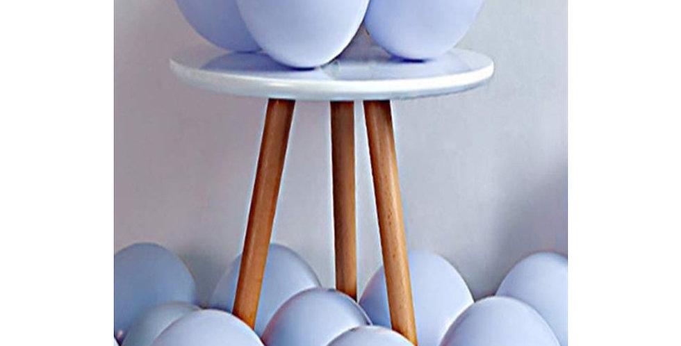 Makaron Mavi Balon 15 Adet