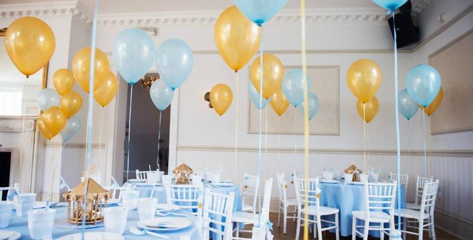 metallic flying balloons bundle