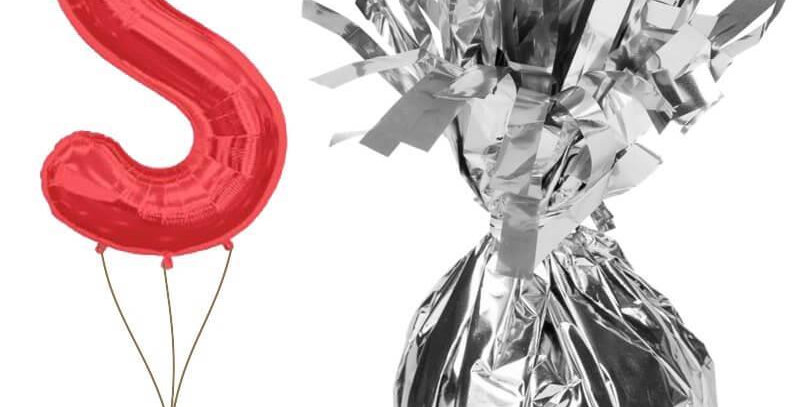Uçan Balon Ağırlığı Gümüş Renk
