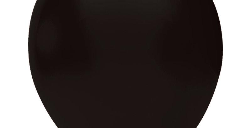 Pastel Siyah Balon 15 Adet
