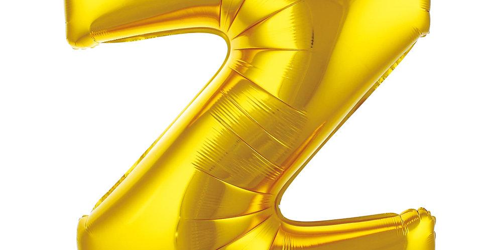 Z- HARF 40 İNC GOLD RENK BALON 100 CM